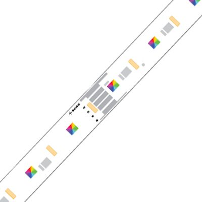 Architape RGBW 100/25/950 nichia 1
